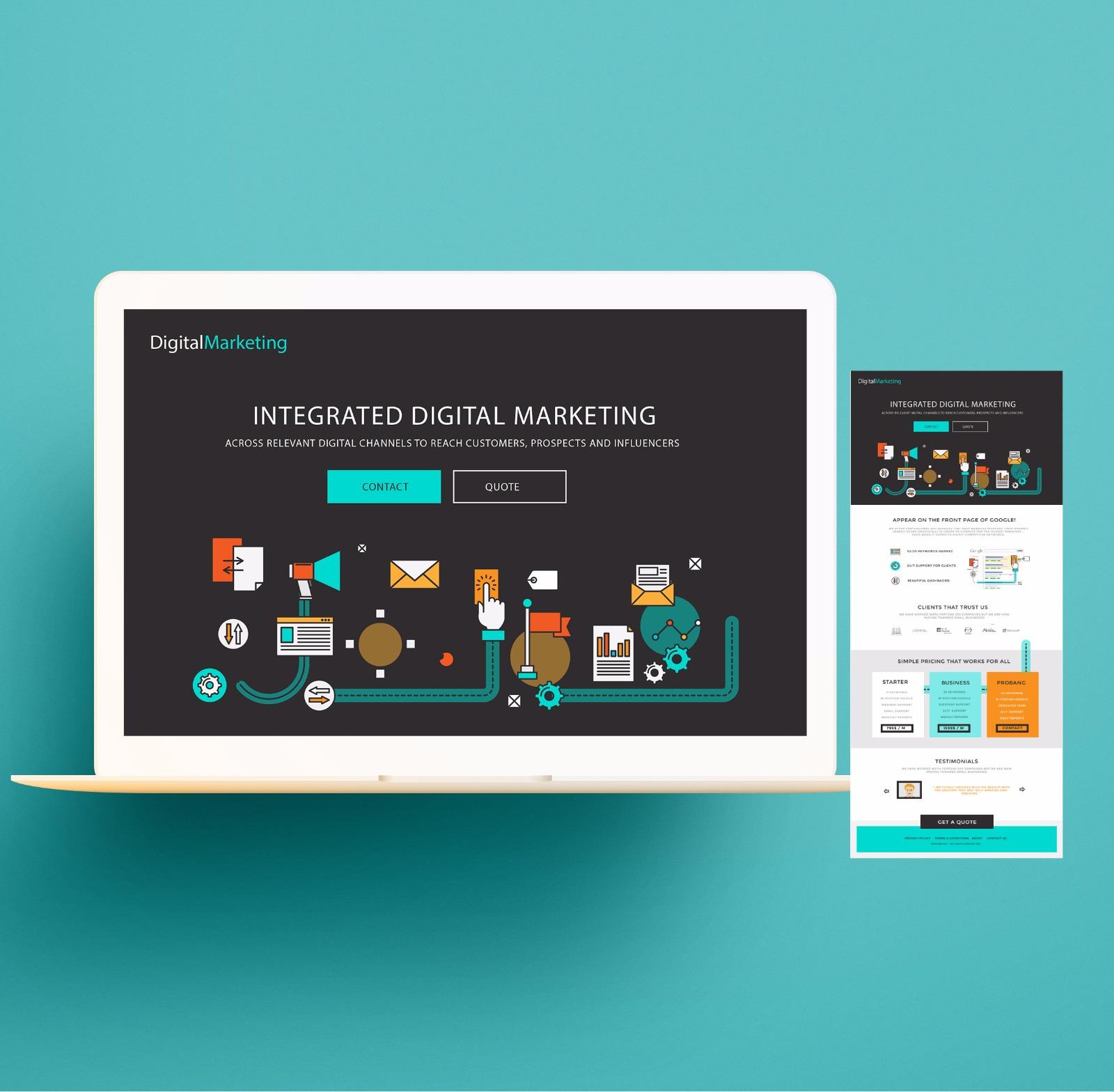 Digital marketing across all channels